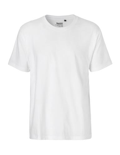 Neutral herre t-shirt classic
