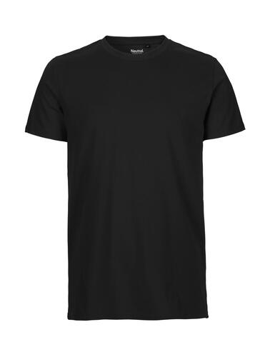 Neutral herre t-shirt fitted