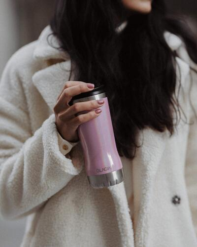 Thermo cup pink